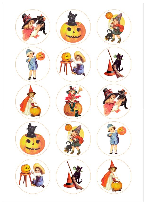 Imagen del producto: Modelo nº 1252: Halloween vintage