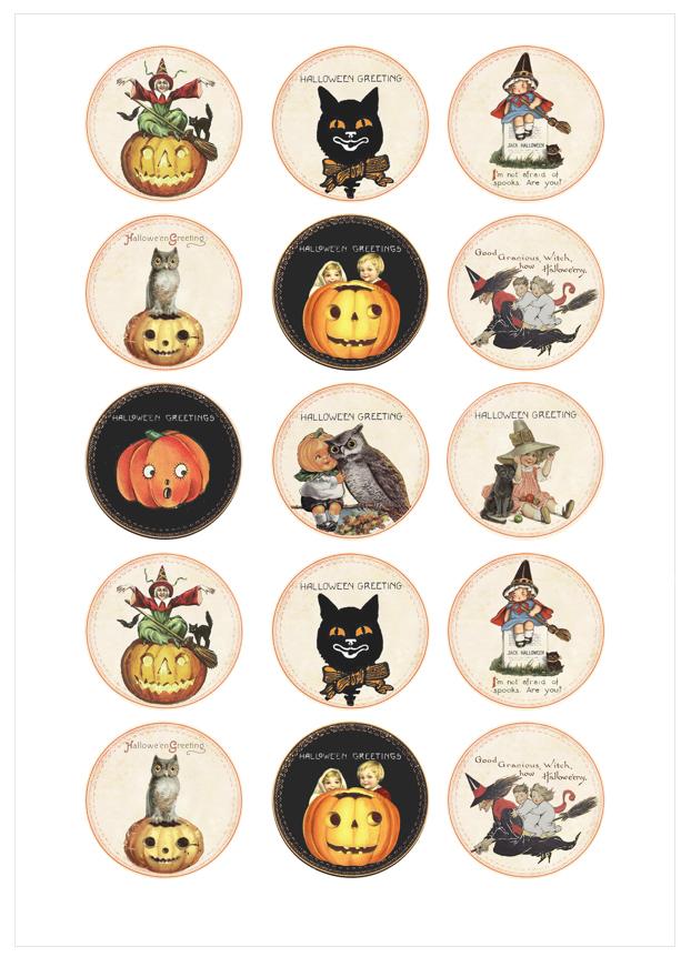 Imagen del producto: Modelo nº 1255: Halloween vintage