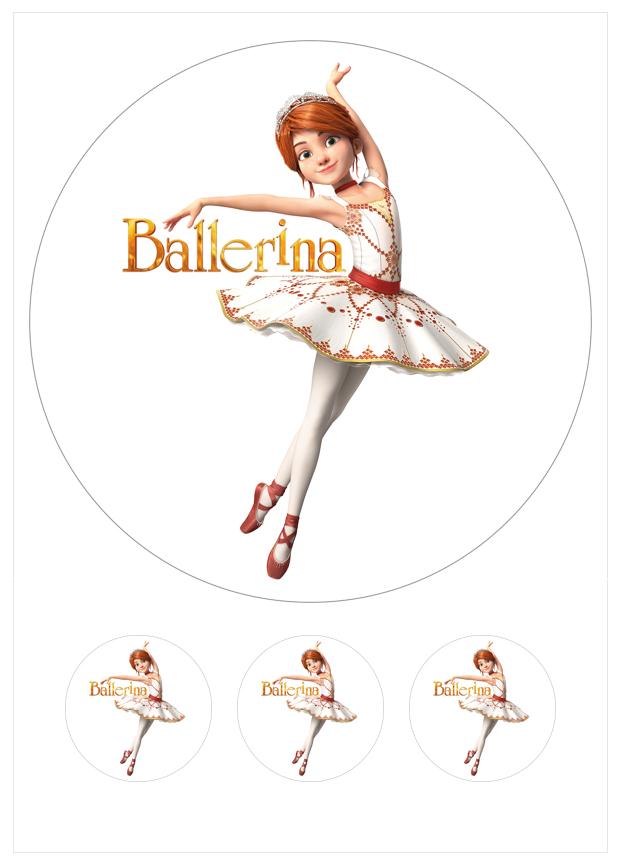 Imagen del producto: Modelo nº 1257: Ballerina para tarta