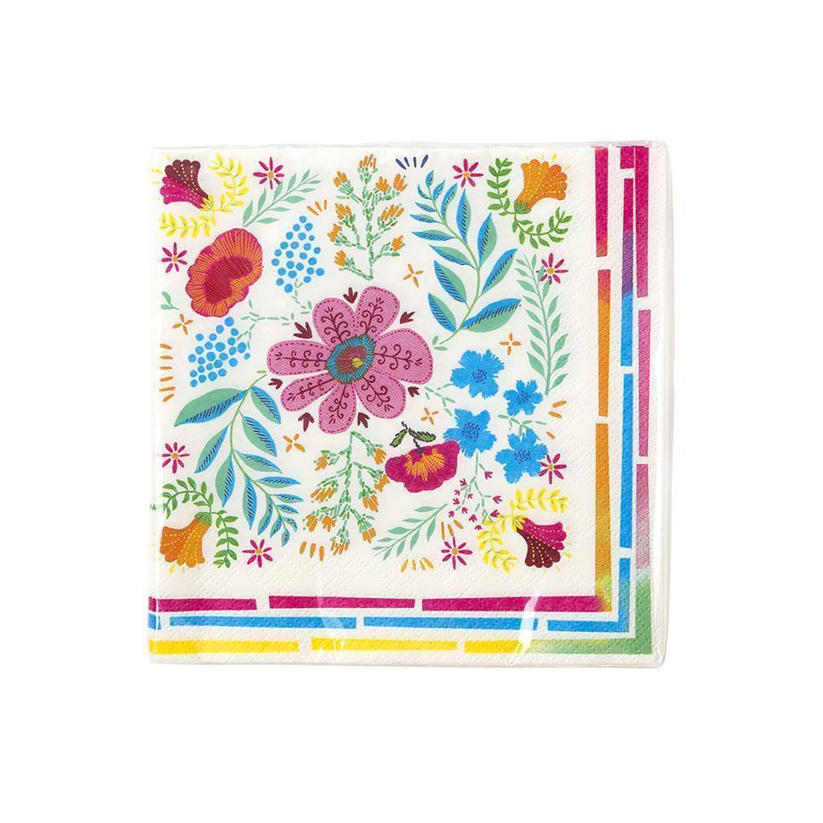 Imagen del producto: 20 servilletas de flores