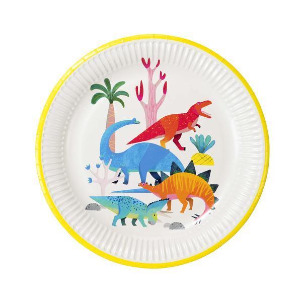 Imagen del producto: 8 platos de dinosaurios