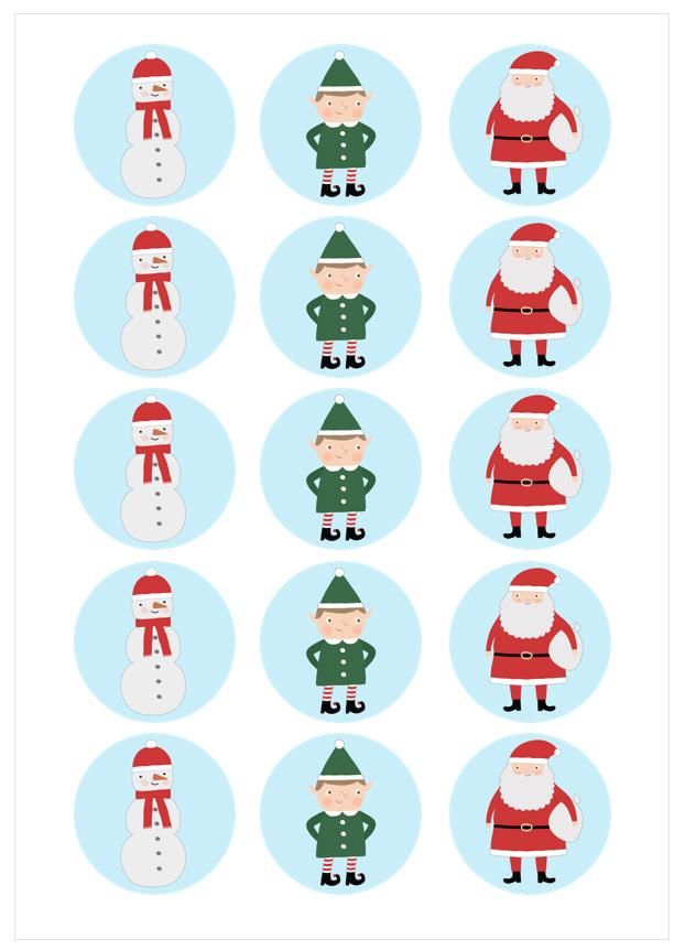 Imagen del producto: Modelo nº 1621: Personajes navideños
