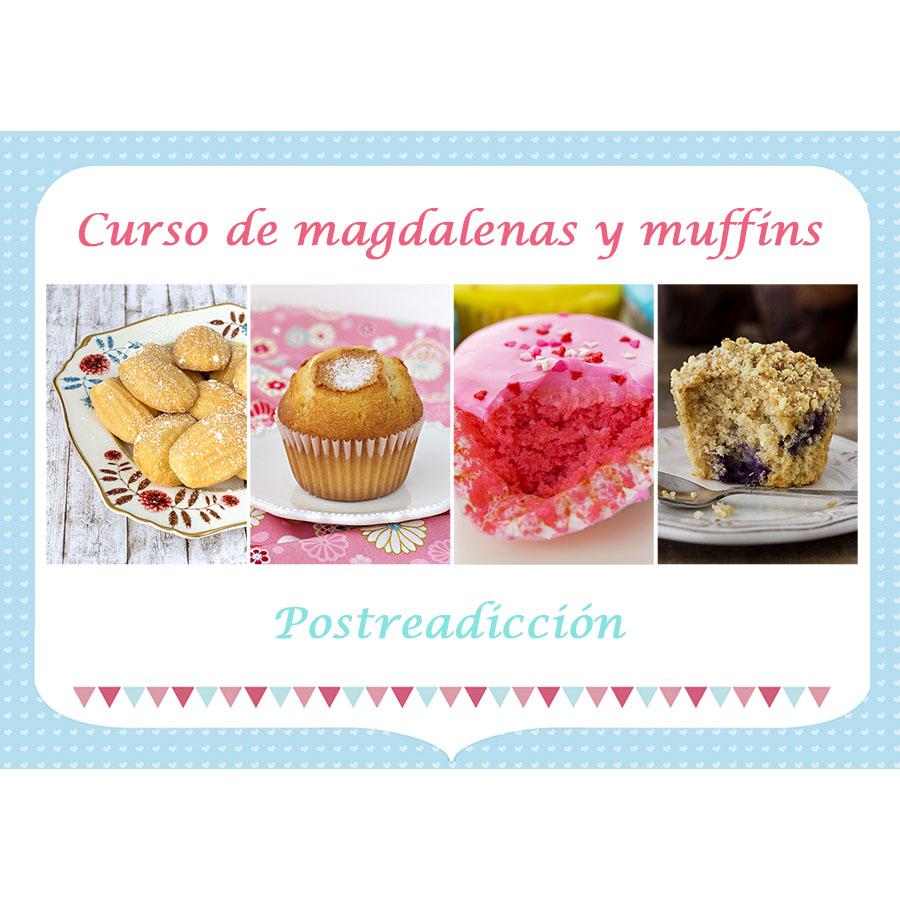 Imagen del producto: Curso presencial de magdalenas y muffins