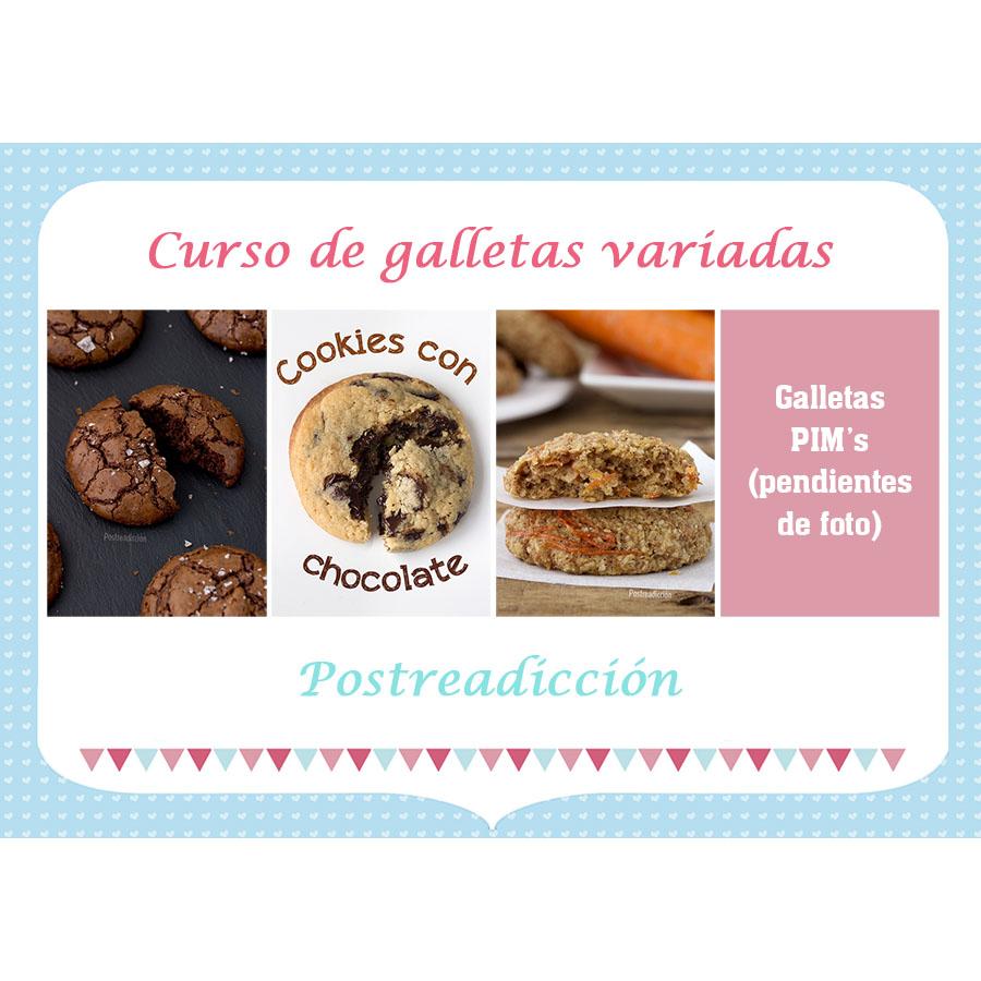 Imagen del producto: Curso presencial de galletas variadas