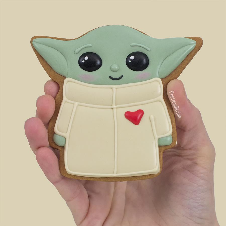 Imagen del producto: Plantilla baby Yoda mediano