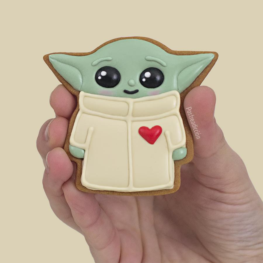 Imagen del producto: Plantilla baby Yoda mini