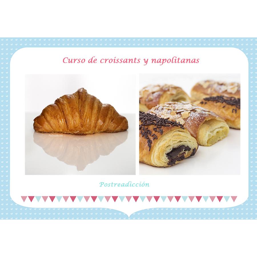 Imagen del producto: Curso presencial de croissants y napolitanas