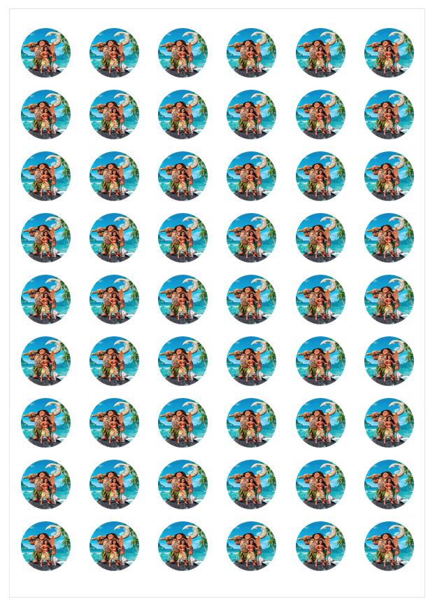 Imagen del producto: Modelo nº 1692: Vaiana para minioreos