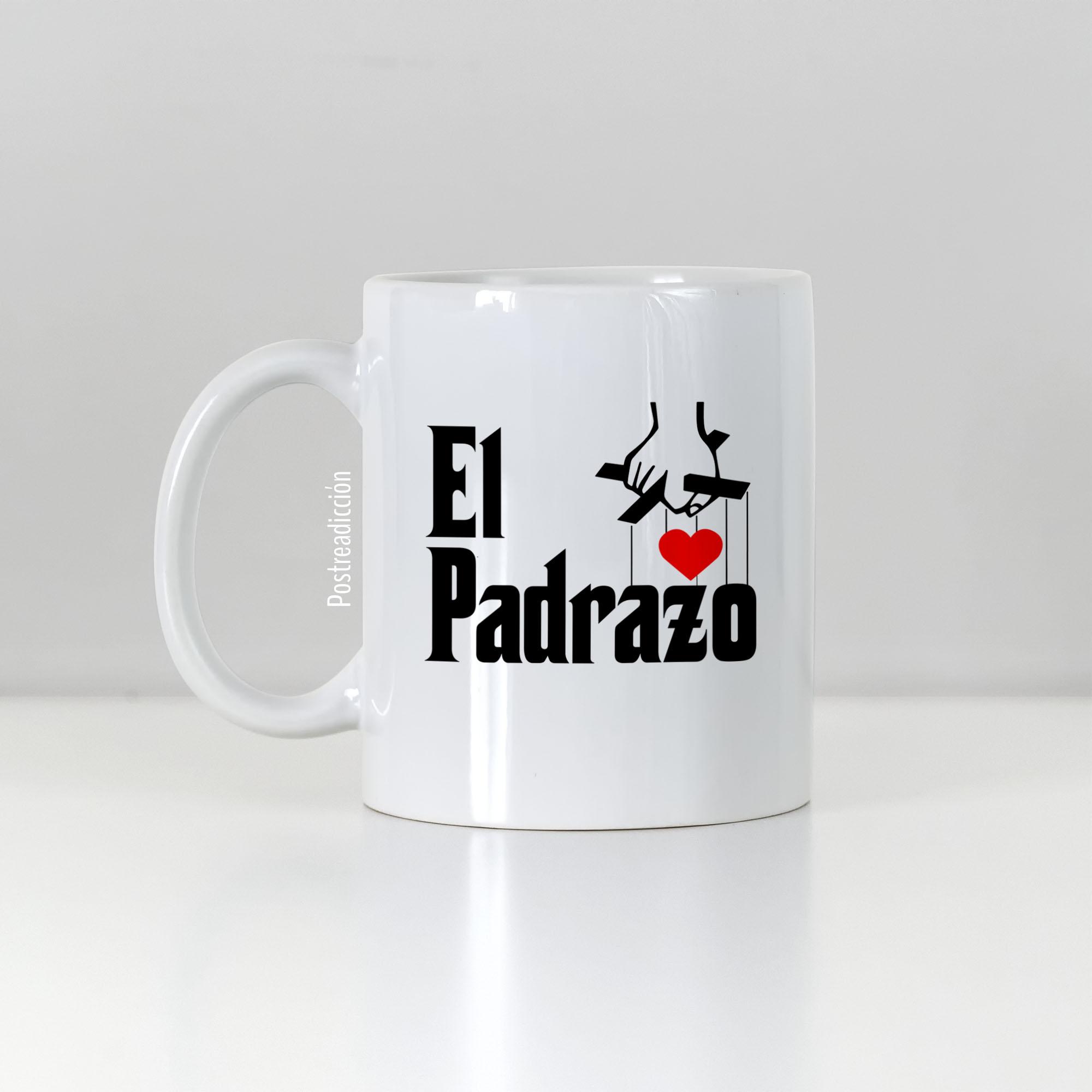 """Imagen del producto: Taza """"El Padrazo"""" con nombre"""