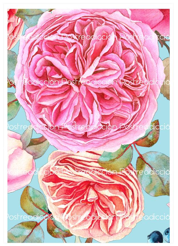 Imagen del producto: Modelo nº 1714: Flores para tarta