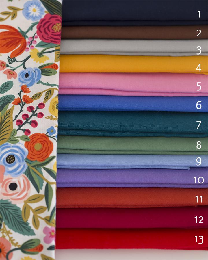 Imagen del producto: Mascarilla lisa en color a elegir