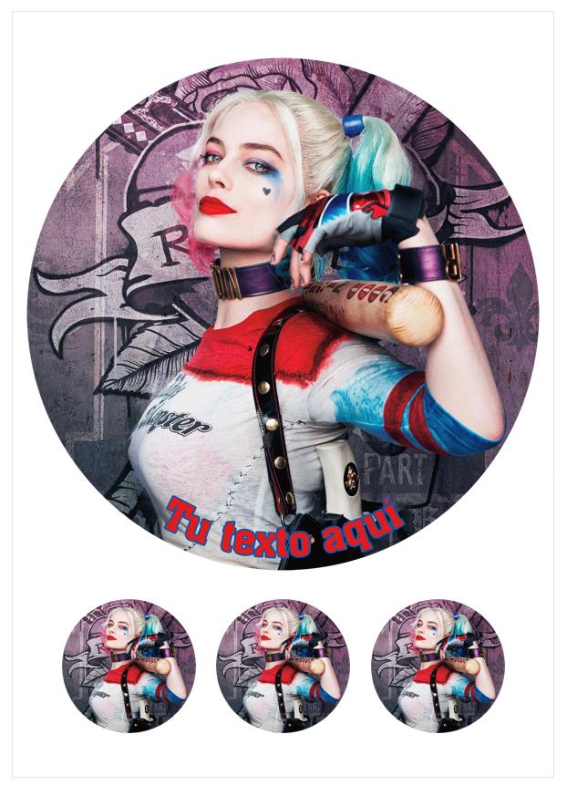 Imagen del producto: Modelo nº 1753:  Harley Quinn parta tarta