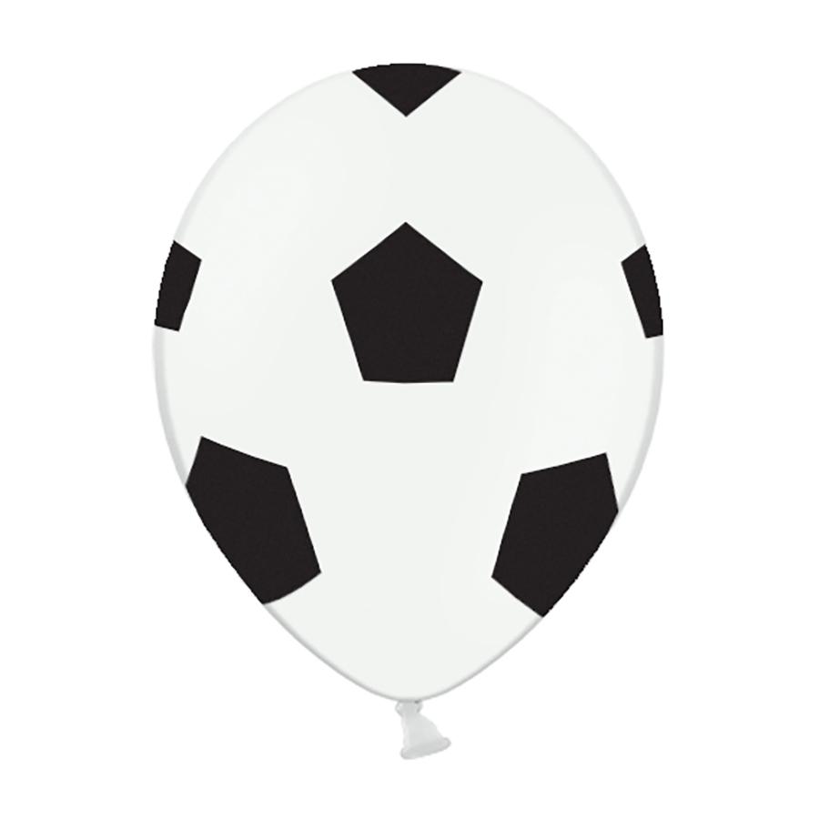 Imagen del producto: 6 globos de fútbol de 30 cm