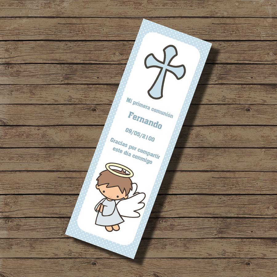 Imagen del producto: Imprimible marcapáginas angelito
