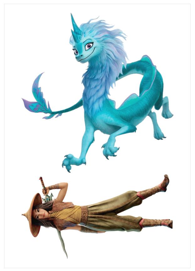 Imagen del producto: Modelo nº 1898: Raya y el último dragón