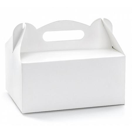 Imagen del producto: 10 cajas blancas rectangulares