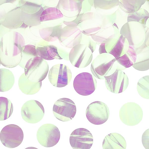 Imagen del producto: Confetti círculos iridiscentes