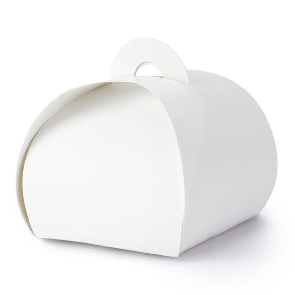 Imagen del producto: 10 cajitas blancas con asa