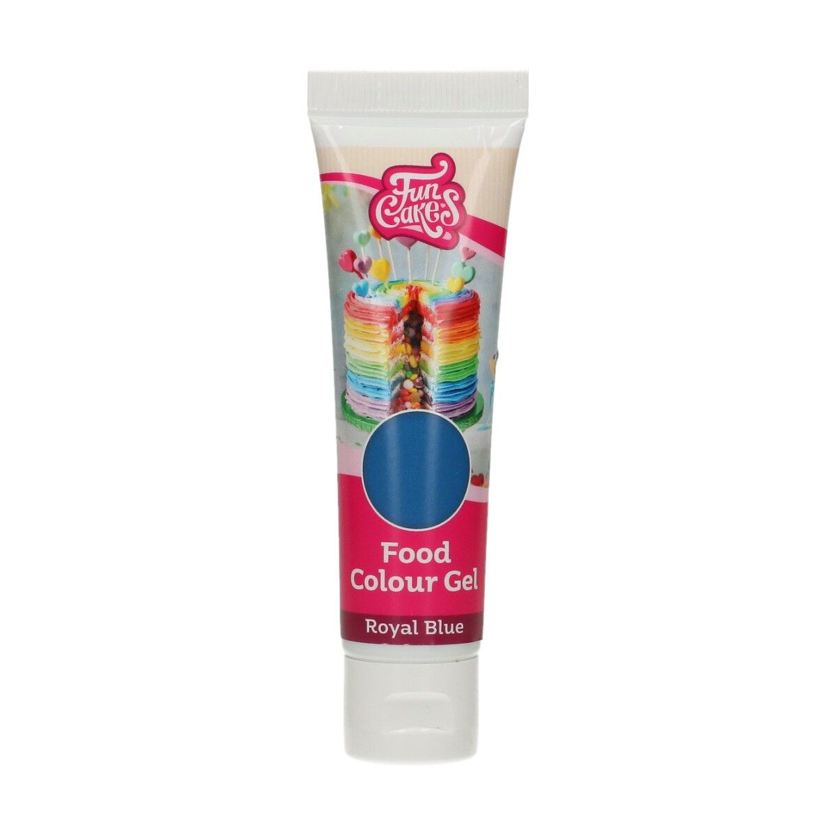 Imagen del producto: Colorante en gel azul oscuro 30 g - Funcakes