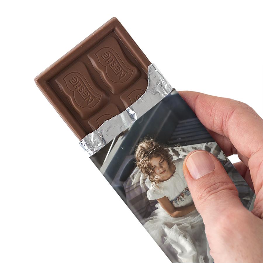 Imagen del producto: 4 chocolatinas personalizadas