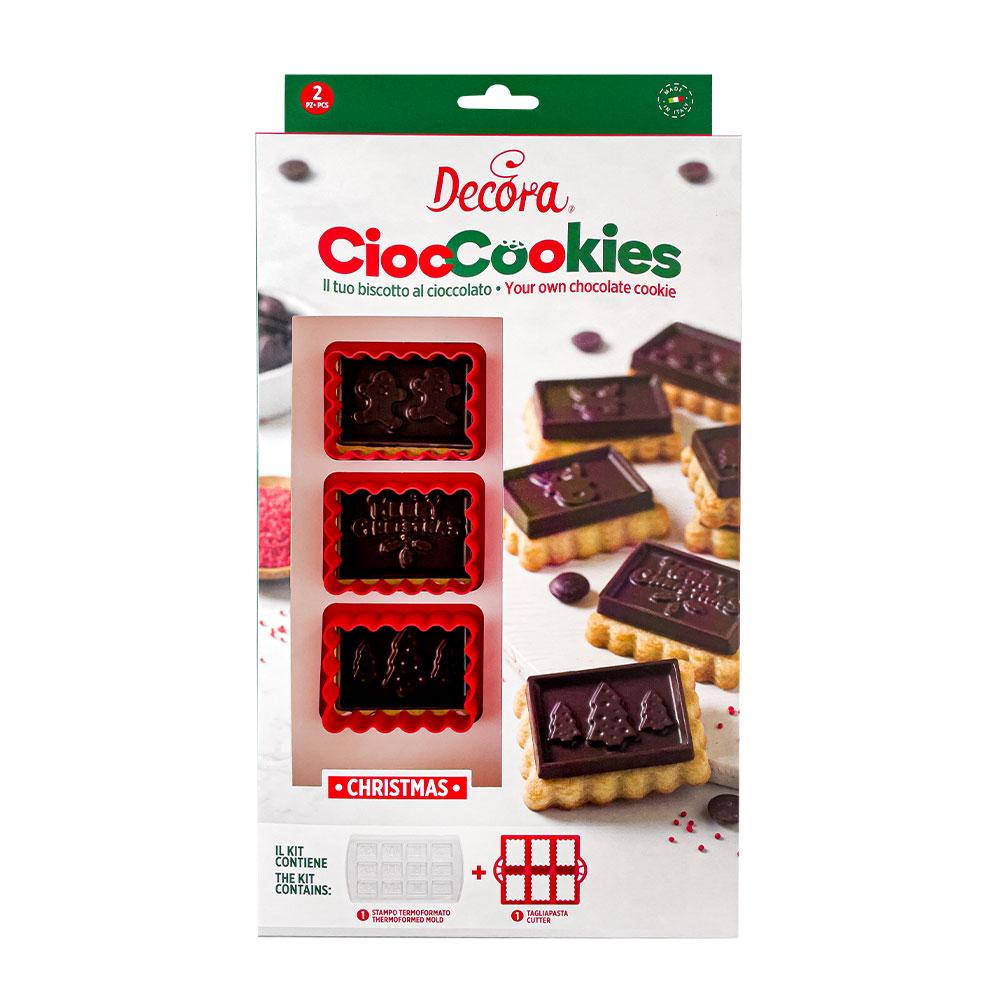 Imagen del producto: Cortadores y moldes tipo petit ecolier de Navidad - Decora