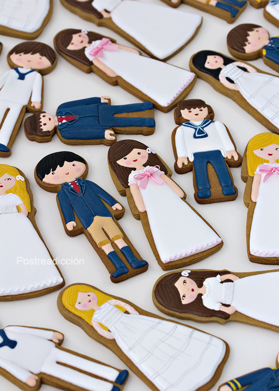 galletas primera comunion