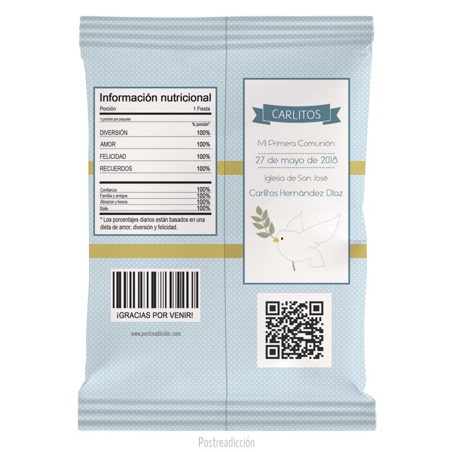 Imagen de producto: https://tienda.postreadiccion.com/img/articulos/secundarias13230-10-bolsas-de-snacks-de-nina-de-comunion-carlitos-1.jpg