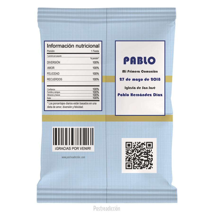 Imagen de producto: https://tienda.postreadiccion.com/img/articulos/secundarias13231-10-bolsas-de-snacks-de-nina-de-comunion-click-nino-1.jpg