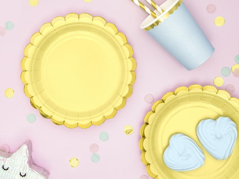 Imagen de producto: https://tienda.postreadiccion.com/img/articulos/secundarias13601-6-platitos-amarillosdorados-1.jpg