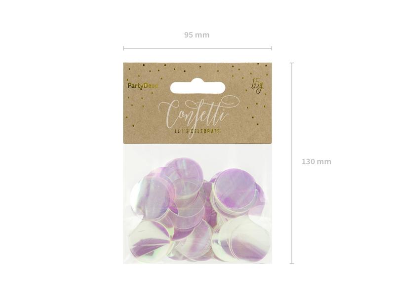 Imagen de producto: https://tienda.postreadiccion.com/img/articulos/secundarias13951-confetti-circulos-iridiscentes-2.jpg