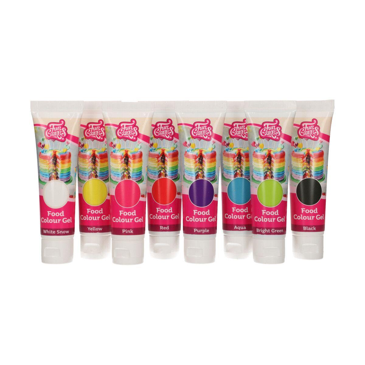 Imagen de producto: https://tienda.postreadiccion.com/img/articulos/secundarias14113-set-de-8-colorantes-en-gel-funcakes-1.jpg